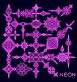 elements set vector image