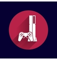 Game controller icon video gaming game electronics vector image