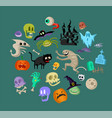 icon and element decoration for happy vector image vector image