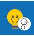 idea gear programming document design vector image vector image