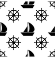 nautical seamless pattern Cute design vector image vector image