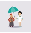 Senior Medical Insurance vector image