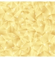 Abstract bright gold pattern from triangles vector image vector image