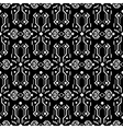 Abstract tribe dark ornament seamless vector image vector image