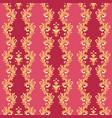 barocco ctyle pattern vector image vector image