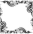 Decorative frame border vector image vector image