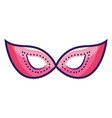 party women mask vector image