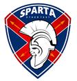 sparta logo vector image vector image