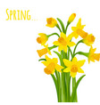 spring postcard vector image vector image