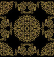 vintage seamless pattern seamless template vector image