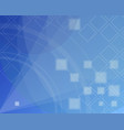 blue abstract background technical concept vector image