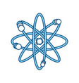 atom science element vector image