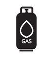 liquid propane gas icon symbol design vector image vector image