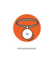 Otolaryngology Medical icon vector image vector image
