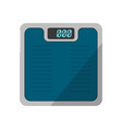 sports scales isolated icon vector image vector image