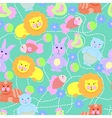 toys pattern seamless vector image vector image
