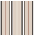 Vertical thin straight lines seamless pattern vector image vector image