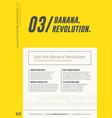 Yellow business presentation template