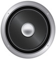 audio speaker icon vector image