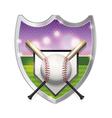 Baseball Badge Emblem