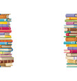 book frame seamless looping vector image
