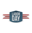 Labor Day realistic paper Banner vector image