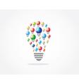 Lamp Idea Design vector image