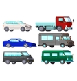 Orthogonal Business Cars Set vector image vector image