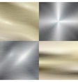 Polished metal steel texture background vector image