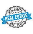 real estate stamp sign seal vector image vector image