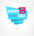 Season Sale Weekend special offer poster banner vector image