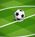 World soccer championship vector image vector image
