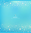 abstract blue blurred background with beauty vector image vector image