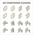 Air cleaning icon vector image vector image