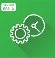 document icon business concept project management vector image
