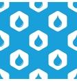 Drop hexagon pattern vector image