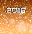 Gold Show 2016 vector image vector image