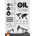 infographic oil of the world vector image vector image