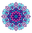 new round mandala-06 vector image vector image