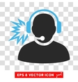 Operator Message Eps Icon vector image