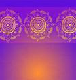 Vintage invitation card on grunge purple backgroun vector image vector image
