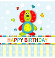 Children Scrapbook Birthday Card vector image