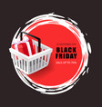 black friday sale 70 percent price reduction vector image vector image