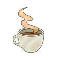 coffee mug icon vector image vector image