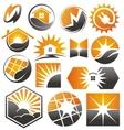 solar vector image vector image