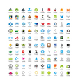 usable business icons set set 100 icons vector image vector image