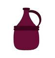 Wine antique jar vector image