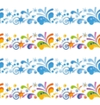 Abstract Colorful Seamless Background vector image vector image