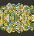abstract hand-drawn border pattern Seamless vector image
