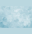 abstract ice triangular background vector image